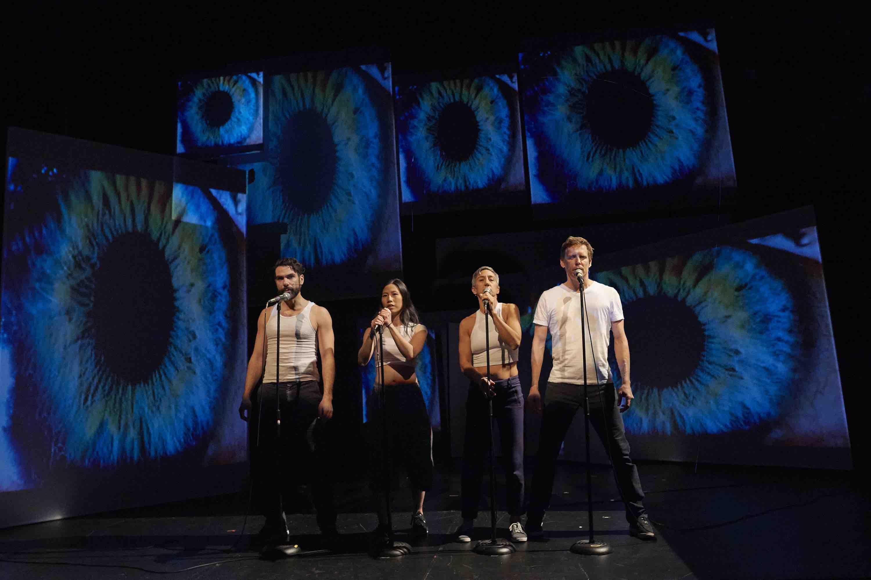 Actos on stage with Theatre Gargantua Reflector