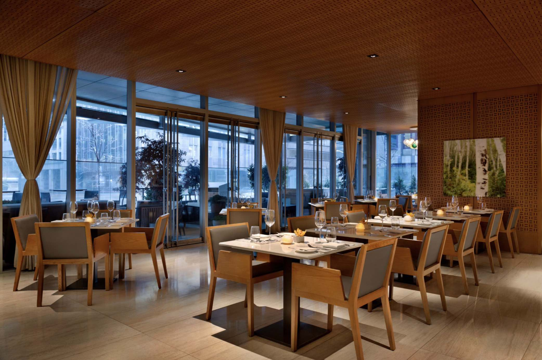 Bosk Restaurant interior shot