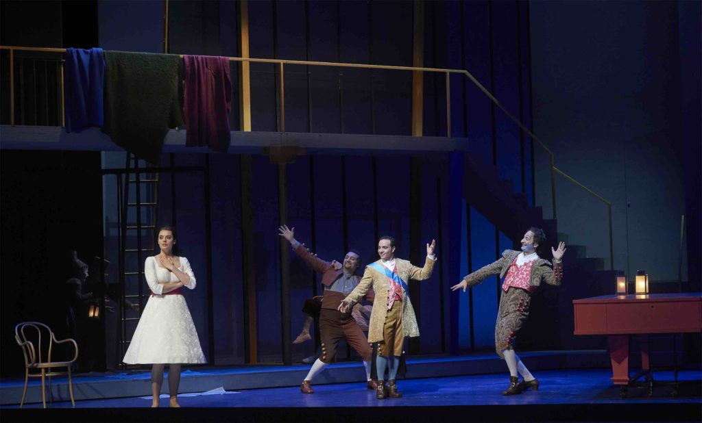 The cast of the COC's Barber of Seville bring this classic comic opera to life