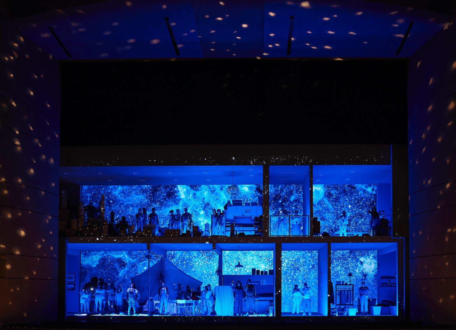 A scene from the Canadian Opera Company's new Hansel & Gretel, photo - Michael Cooper